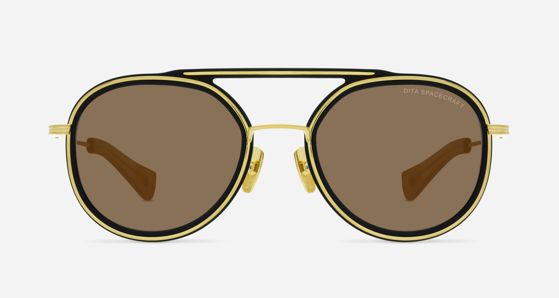 Dita SPACECRAFT A-BLK-GLD Sunglasses