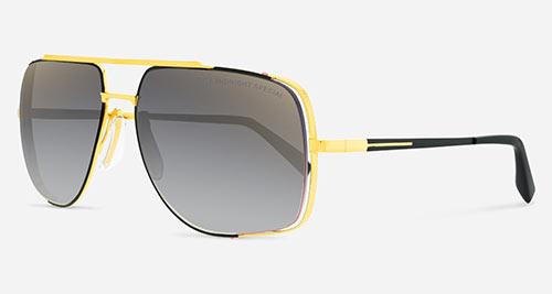 Dita MIDNIGHT SPECIAL L-GLD-BLK Sunglasses