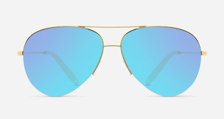 Victoria Beckham CLASSIC VICTORIA XS P SKY VBS106 C08 Sunglasses