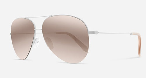 Victoria Beckham CLASSIC VICTORIA P SANTA MONICA 18K GOLD VBS100 C18 Sunglasses
