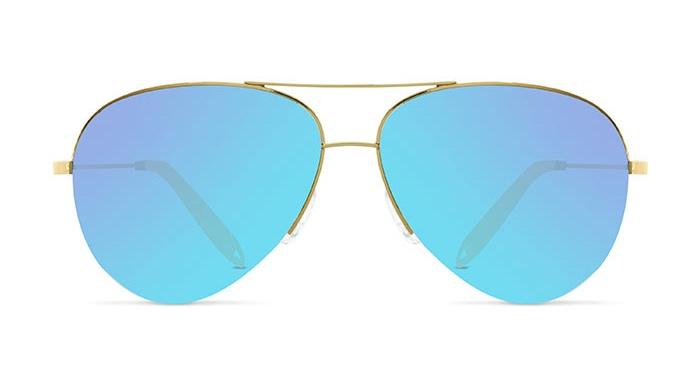 Victoria Beckham CLASSIC VICTORIA XS P SKY VBS106 Sunglasses
