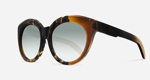 Kuboraum MASK D3 SHINY HAVANA HH HS Sunglasses
