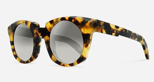 Kuboraum MASK U6 SHINY BLONDE HAVANA HGS Sunglasses