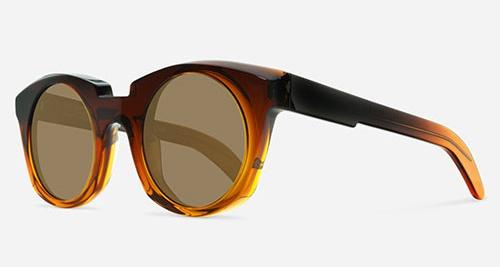 Kuboraum MASK U6 TRANSPARENT BROWN ORS Sunglasses