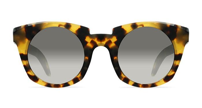 Kuboraum MASK U6 SHINY BLONDE HAVANA Sunglasses