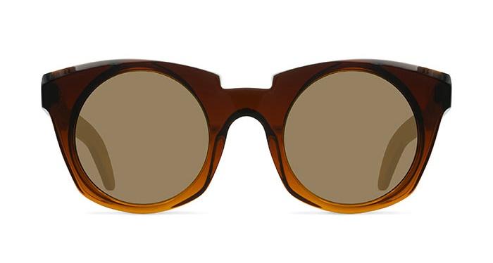 Kuboraum MASK U6 TRANSPARENT BROWN Sunglasses