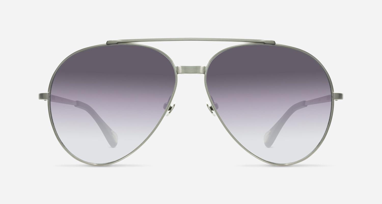 Linda Farrow ANN DEMEULEMEESTER 14 SILVER BLACK C1 K Sunglasses