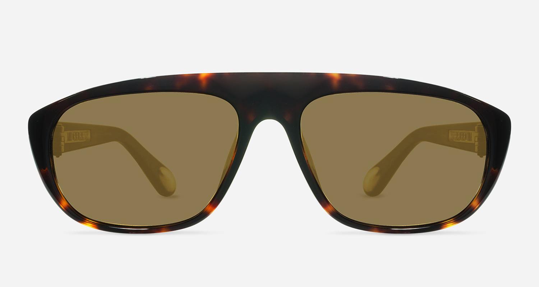 Linda Farrow ANN DEMEULEMEESTER 1 AMBER T-SHELL 925 SILVER C4 D Sunglasses