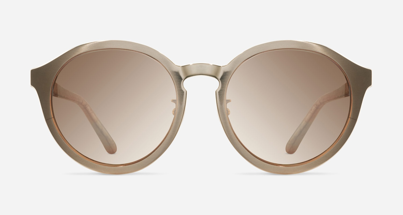 Linda Farrow LINDA FARROW 338 ROSE GOLD SNAKESKIN C3 Sunglasses