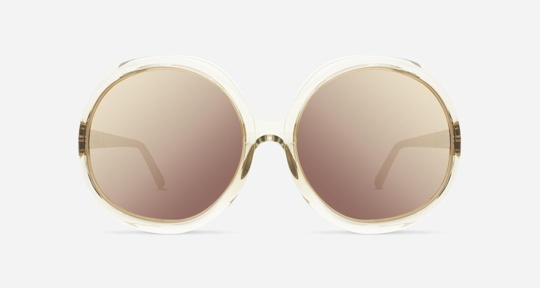Linda Farrow LINDA FARROW 417 ASH ROSE GOLD C12 A Sunglasses