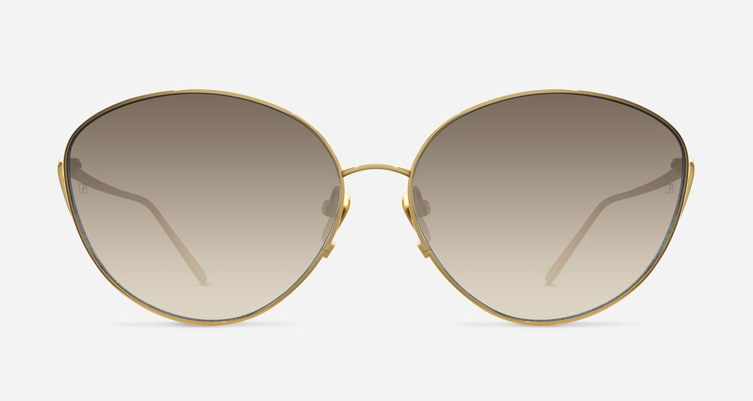 Linda Farrow LINDA FARROW 508 YELLOW GOLD C4 AJ Sunglasses