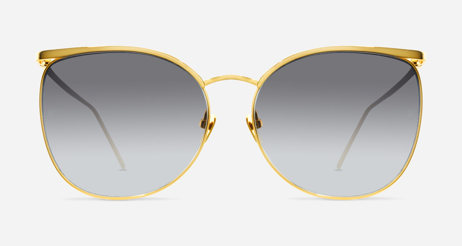 Linda Farrow LINDA FARROW 509 YELLOW GOLD C4 AK Sunglasses