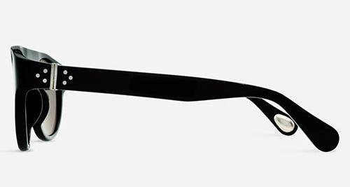 Linda Farrow ANN DEMEULEMEESTER 10 BLACK 925 SILVER C1 J Sunglasses