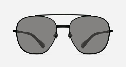 Linda Farrow ANN DEMEULEMEESTER 12 BLACK C4 F Sunglasses