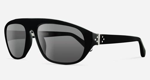 Linda Farrow ANN DEMEULEMEESTER 1 BLACK 925 SILVER C1 J Sunglasses