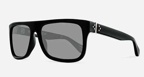 Linda Farrow ANN DEMEULEMEESTER 2 BLACK 925 SILVER C1 J Sunglasses