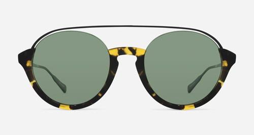 Linda Farrow KRISVANASSCHE 83 GRAPHIC T-SHELL BLACK C2 K Sunglasses