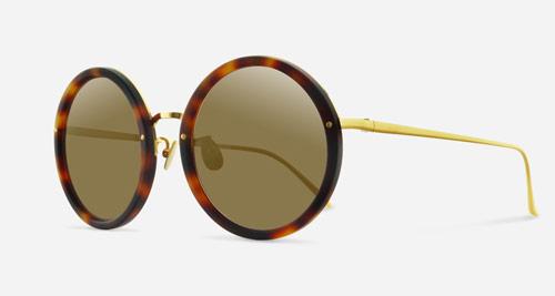 Linda Farrow LINDA FARROW 239 MATTE TORTOISE SHELL C27 Sunglasses