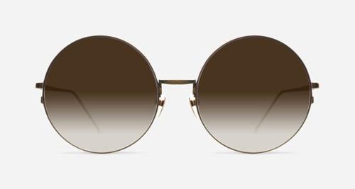 Linda Farrow LINDA FARROW 343 BRONZE C7 Sunglasses