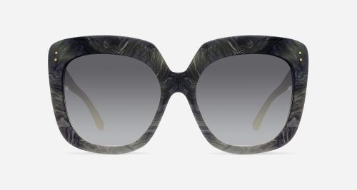 Linda Farrow LINDA FARROW 556 GREY MARBLE C9 D Sunglasses