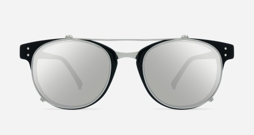 Linda Farrow LINDA FARROW 581 BLACK WHITE GOLD C2 W Sunglasses