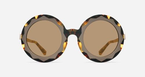Linda Farrow MARKUS LUPFER 11 TORTOISE SHELL TAUPE C2 N Sunglasses