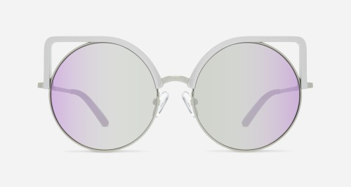Linda Farrow MATTHEW WILLIAMSON 169 GREY ALUMINIUM C1 AB Sunglasses
