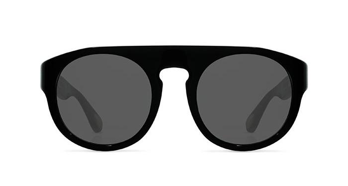 Linda Farrow ANN DEMEULEMEESTER 10 BLACK 925 SILVER Sunglasses