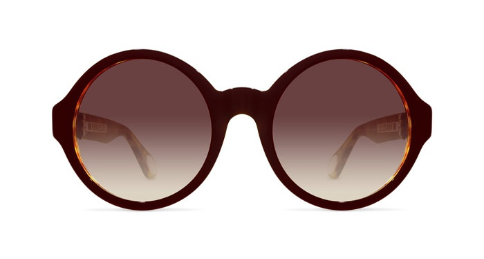 Linda Farrow ANN DEMEULEMEESTER 7 BLACK T-SHELL 925 SILVER Sunglasses