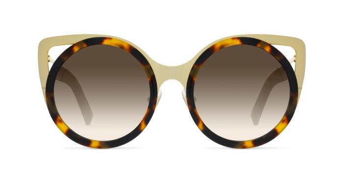 Linda Farrow ERDEM 4 HAVANA Sunglasses