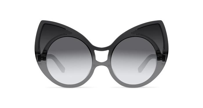 Linda Farrow KHALEDA RAJAB  + FAHAD ALMARZOUQ 1 GREY SHADED Sunglasses