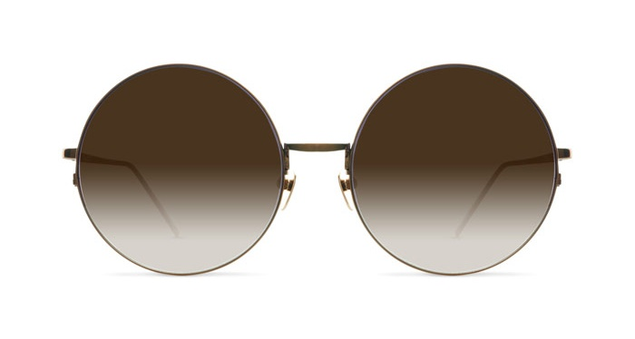 Mykita LINDA FARROW 343 BRONZE Sunglasses