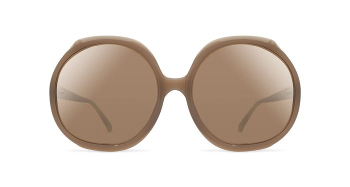 Linda Farrow LINDA FARROW 417 DUSKY ROSE Sunglasses