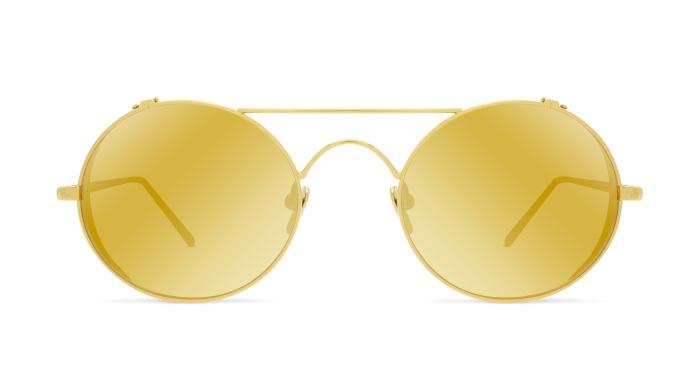 Linda Farrow LINDA FARROW 427 YELLOW GOLD Sunglasses