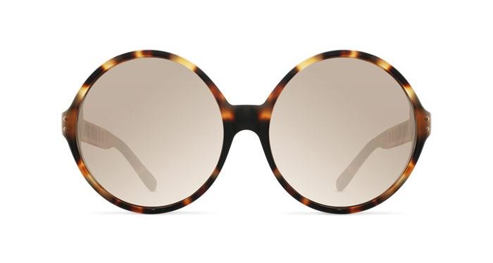 Linda Farrow LINDA FARROW 451 T-SHELL ROSE GOLD Sunglasses
