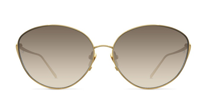 Linda Farrow LINDA FARROW 508 YELLOW GOLD Sunglasses