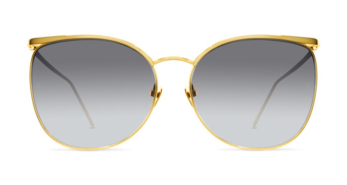 Linda Farrow LINDA FARROW 509 YELLOW GOLD Sunglasses