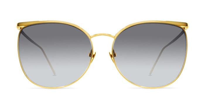 Linda Farrow LINDA FARROW 509 YELLOW GOLD Sunglasses