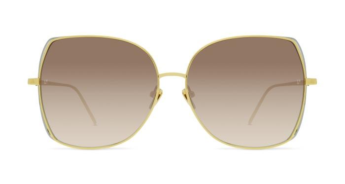 Linda Farrow LINDA FARROW 590 YELLOW GOLD Sunglasses