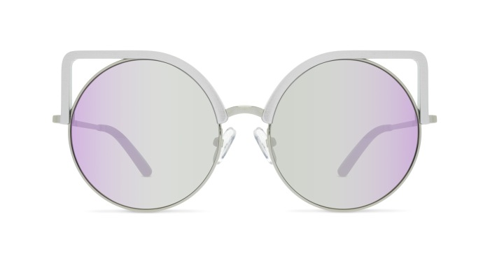 Linda Farrow MATTHEW WILLIAMSON 169 GREY ALUMINIUM Sunglasses