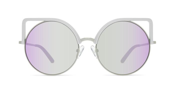 Linda Farrow MATTHEW WILLIAMSON 169 GREY ALUMINIUM Sunglasses